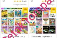 Photo of Buku teks digital percuma kini dicetak rompak