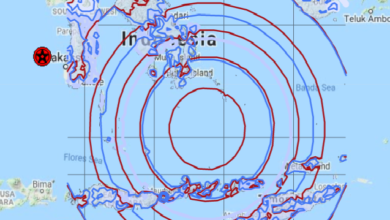 Photo of Gempa kuat gegar Indonesia